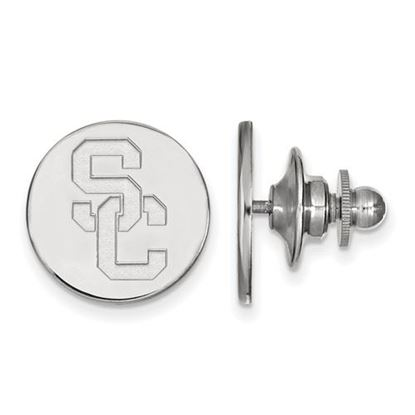 Picture of University of Southern California Trojans Sterling Silver Lapel Pin