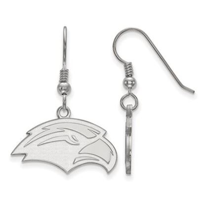 Picture of University of Southern Mississippi Golden Eagles Sterling Silver Small Dangle Earrings