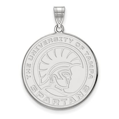 Picture of University of Tampa Spartans Sterling Silver Extra Large Pendant