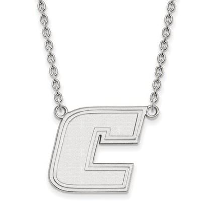 Picture of University of Tennessee at Chattanooga Mocs Sterling Silver Large Necklace