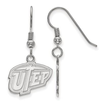 Picture of University of Texas at El Paso Miners Sterling Silver Small Dangle Earrings