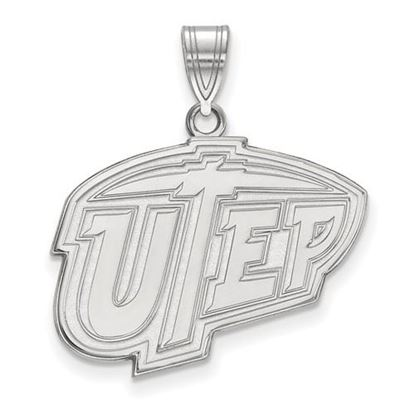 Picture of University of Texas at El Paso Miners Sterling Silver Large Pendant