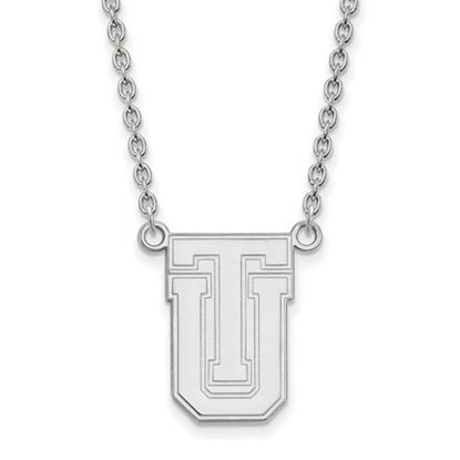 Picture of University of Tulsa Golden Hurricanes Sterling Silver Large Necklace
