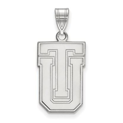 Picture of University of Tulsa Golden Hurricanes Sterling Silver Large Pendant