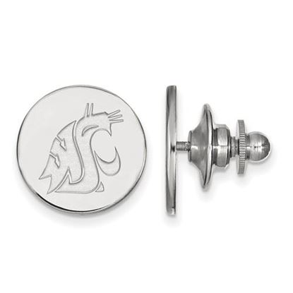 Picture of Washington State University Cougars Sterling Silver Lapel Pin