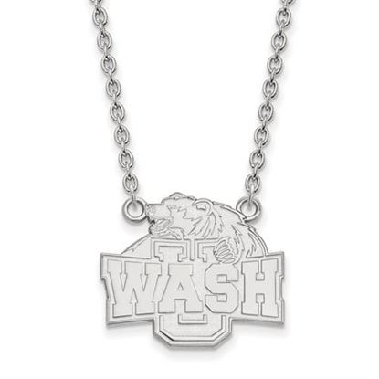 Picture of Washington University St. Louis Bears Bears Sterling Silver Large Necklace