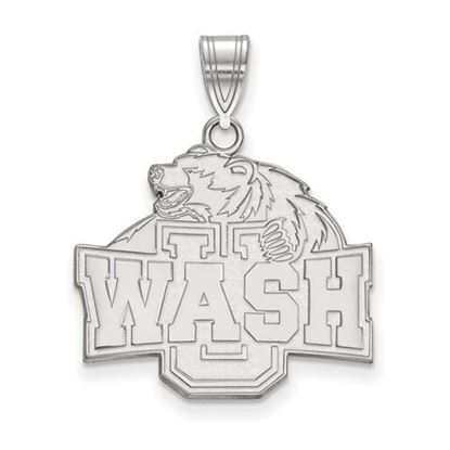 Picture of Washington University St. Louis Bears Bears Sterling Silver Large Pendant