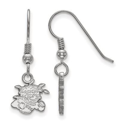 Picture of Wichita State University Shockers Sterling Silver Extra Small Dangle Earrings