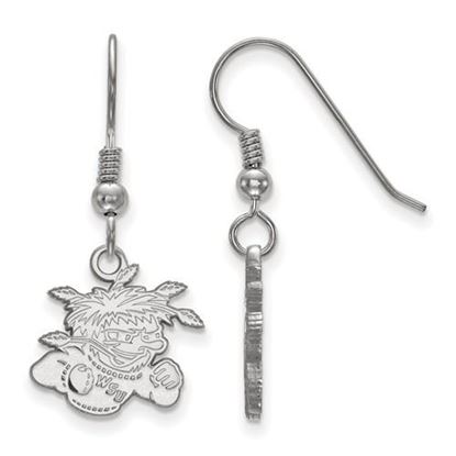 Picture of Wichita State University Shockers Sterling Silver Small Dangle Earrings