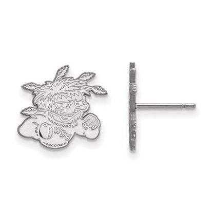 Picture of Wichita State University Shockers Sterling Silver Small Post Earrings
