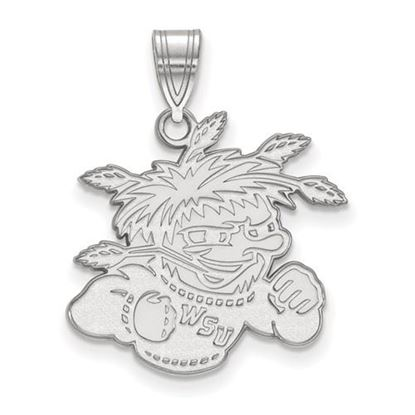 Picture of Wichita State University Shockers Sterling Silver Large Pendant