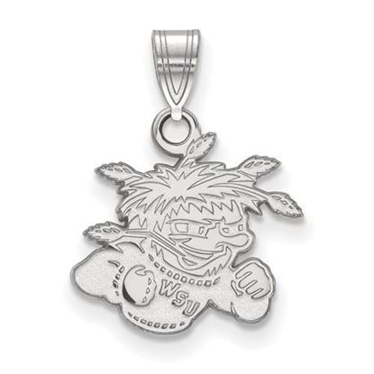 Picture of Wichita State University Shockers Sterling Silver Small Pendant