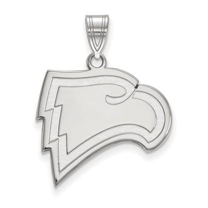Picture of Winthrop University Eagles Sterling Silver Large Pendant