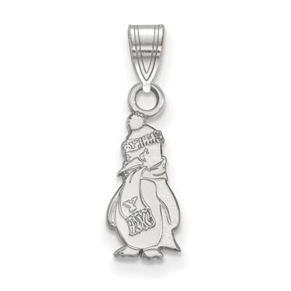 Picture of Youngstown State University Penguins Sterling Silver Small Pendant