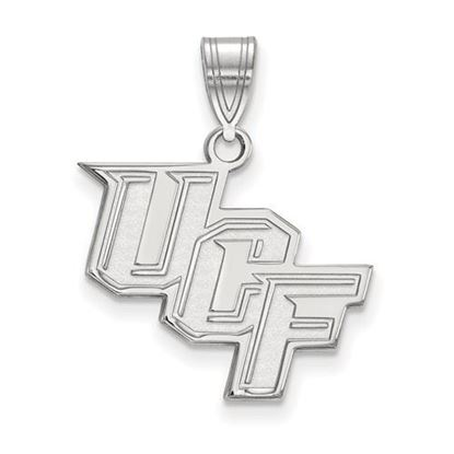 Picture of University of Central Florida Knights Sterling Silver Medium Pendant