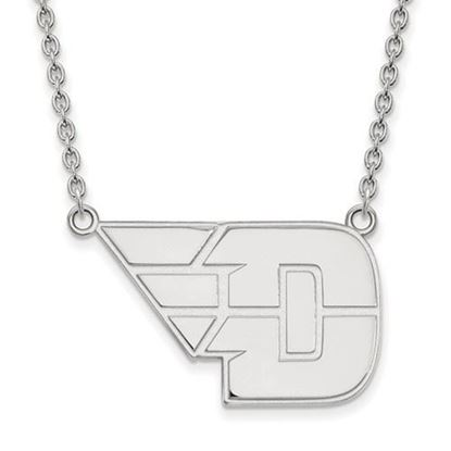 Picture of University of Dayton Flyers Sterling Silver Large Necklace
