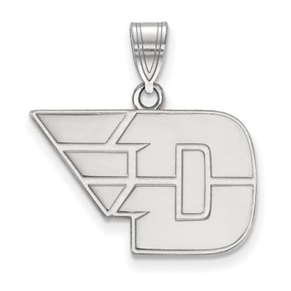 Picture of University of Dayton Flyers Sterling Silver Medium Pendant