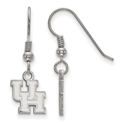Picture of University of Houston Cougars Sterling Silver Extra Small Dangle Earrings