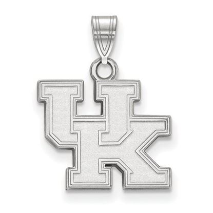 Picture of University of Kentucky Wildcats Sterling Silver Small Pendant
