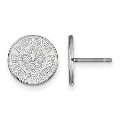 Picture of University of Louisiana at Lafayette Ragin' Cajuns Sterling Silver Small Post Earrings