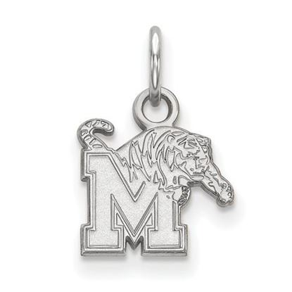 Picture of University of Memphis Tigers Sterling Silver Extra Small Pendant