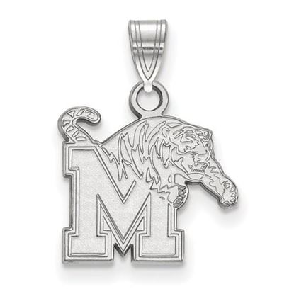 Picture of University of Memphis Tigers Sterling Silver Small Pendant