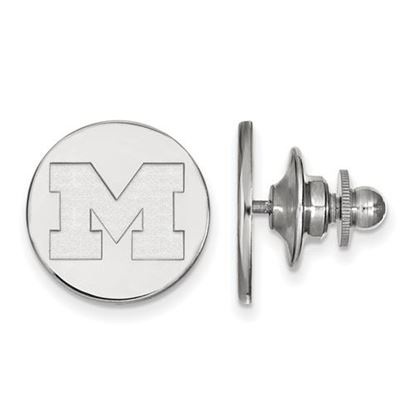 Picture of University of Michigan Wolverines Sterling Silver Lapel Pin
