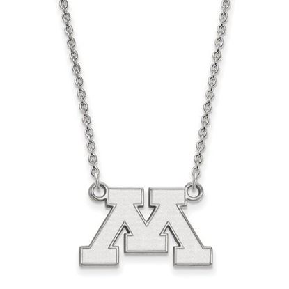 Picture of University of Minnesota Golden Gophers Sterling Silver Small Necklace
