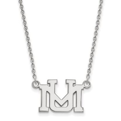 Picture of University of Montana Grizzlies Sterling Silver Small Necklace