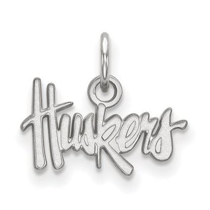 Picture of University of Nebraska Cornhuskers Sterling Silver Extra Small Pendant