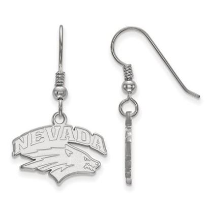 Picture of University of Nevada Wolfpack Sterling Silver Small Dangle Earrings