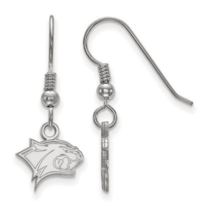 Picture of University of New Hampshire Wildcats Sterling Silver Extra Small Dangle Earrings