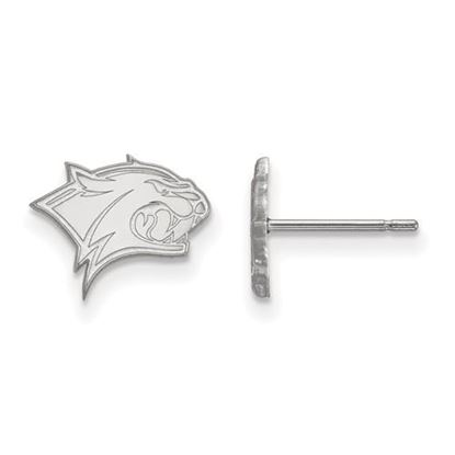 Picture of University of New Hampshire Wildcats Sterling Silver Extra Small Post Earrings