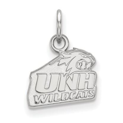 Picture of University of New Hampshire Wildcats Sterling Silver Extra Small Pendant