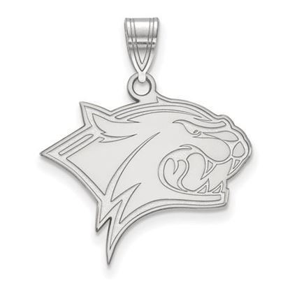 Picture of University of New Hampshire Wildcats Sterling Silver Large Pendant