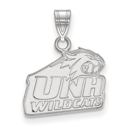 Picture of University of New Hampshire Wildcats Sterling Silver Small Pendant