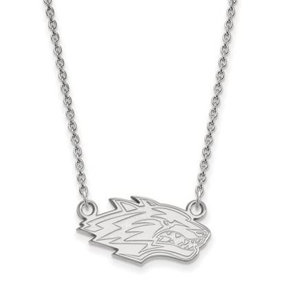 Picture of University of New Mexico Lobos Sterling Silver Small Necklace