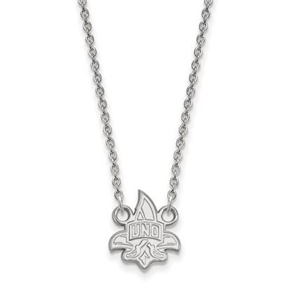 Picture of University of New Orleans Privateers Sterling Silver Small Necklace