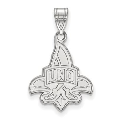 Picture of University of New Orleans Privateers Sterling Silver Large Pendant