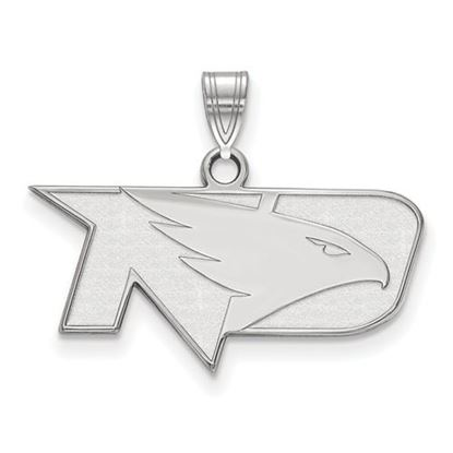 Picture of University of North Dakota Fighting Hawks Sterling Silver Small Pendant