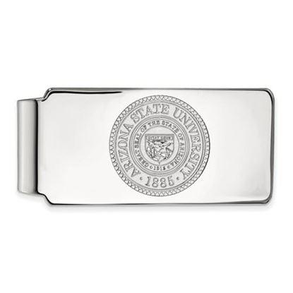 Picture of Arizona State University Sun Devils Sterling Silver Crest Money Clip