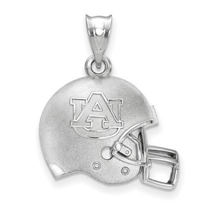 Picture of Auburn University Tigers Sterling Silver 3D Football Helmet Pendant