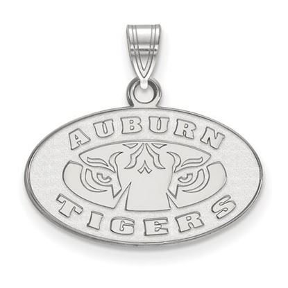 Picture of Auburn University Tigers Sterling Silver Small Pendant