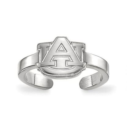 Picture of Auburn University Tigers Auburn Tigers Sterling Silver Toe Ring