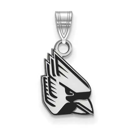 Picture of Ball State University Cardinals Sterling Silver Small Enameled Pendant