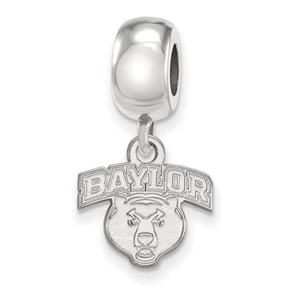 Picture of Baylor University Bears Sterling Silver Extra Small Bead Charm