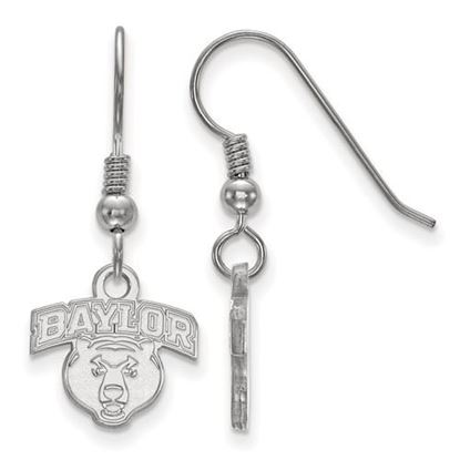 Picture of Baylor University Bears Sterling Silver Extra Small Dangle Earrings