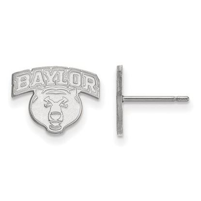 Picture of Baylor University Bears Sterling Silver Extra Small Post Earrings