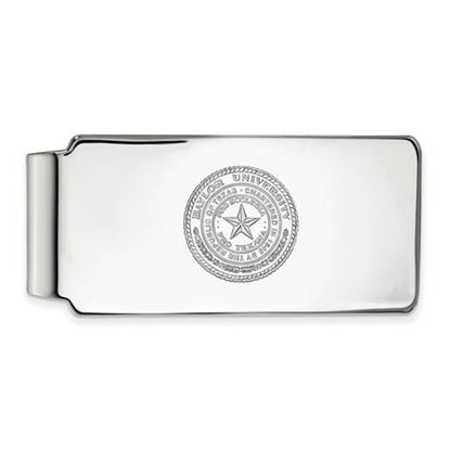 Picture of Baylor University Bears Sterling Silver Crest Money Clip