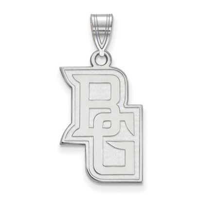 Picture of Bowling Green State University Falcons Sterling Silver Large Pendant